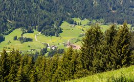Mountain landscape. Ridanna Valley, South Tyrol, Trentino Alto Adige, Italy. Mountain landscape. Ridanna Valley, South Tyrol, Trentino Alto Adige, northern italy royalty free stock photography