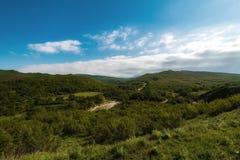 Mountain landscape. River Stock Image