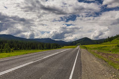 Mountain landscape and road Stock Photography