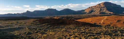 Mountain landscape, Teide National Park, Tenerife royalty free stock photos