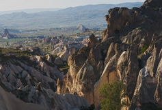 Mountain landscape with rocks Royalty Free Stock Photos