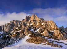 Mountain landscape in Romania Stock Photos