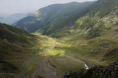 Mountain landscape in Romania Royalty Free Stock Photos