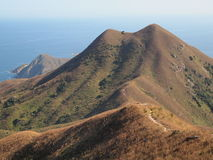 Mountain landscape in Sai Kung Stock Photo