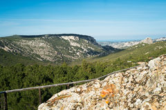 Mountain landscape in Sardinia Royalty Free Stock Photography