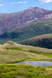 Mountain Landscape Scene Colorado Royalty Free Stock Images