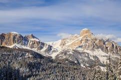 Mountain landscape. Selva di Val Gardena Stock Image