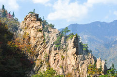 Mountain landscape of Seoraksan Royalty Free Stock Image