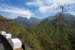 Mountain landscape in Serra de Agua region on Madeira island, Portugal Stock Photography