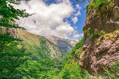 Mountain landscape - Sibillini Mountains Stock Image