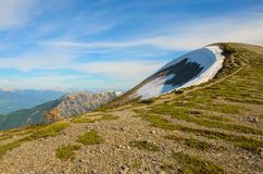 Mountain Landscape in Spring Stock Image