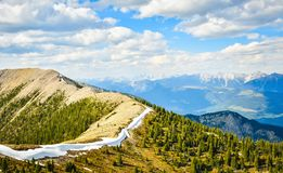 Mountain Landscape in Spring Royalty Free Stock Image