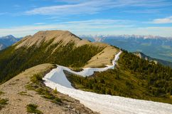 Mountain Landscape in Spring Royalty Free Stock Photography