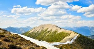 Mountain Landscape in Spring Stock Images