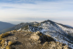 Mountain landscape in spring season Royalty Free Stock Photos
