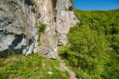 Mountain landscape on springtime Stock Photos