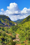 Mountain landscape in Sri Lanka Royalty Free Stock Images