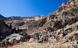 Mountain landscape stone Stock Photography