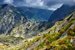 Mountain landscape on summer Stock Photos