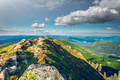 Mountain landscape in summer Royalty Free Stock Image