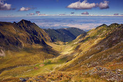 Mountain landscape in a summer day Stock Photo