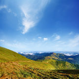 Mountain landscape in summer day Royalty Free Stock Photo