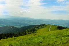 Mountain landscape in summer Royalty Free Stock Photography