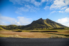 Mountain landscape in summer of Iceland Royalty Free Stock Photos