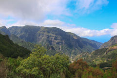 Mountain landscape. In summer. Island Madeira royalty free stock image