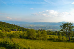 Mountain landscape. Summer in Poland Royalty Free Stock Photo