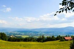 Mountain landscape. Summer in Poland Stock Photo