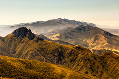 Mountain landscape. From mountain summit royalty free stock images