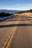 Mountain Landscape Surrounding Great Basin Nevada Highway Route stock images