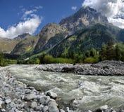 Mountain landscape Svaneti Stock Image