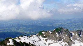Mountain landscape in the Swiss Alps Stock Image