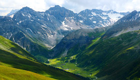 Mountain landscape in Switzerland Stock Photography