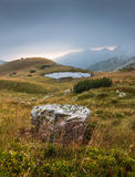 Mountain Landscape with a Tarn Royalty Free Stock Image