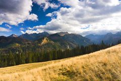 Mountain landscape, Tatry Royalty Free Stock Images