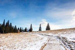 Mountain landscape, Tatry, Poland. Autumn mountain landscape, Tatry, Poland stock photography