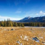 Mountain landscape, Tatry, Poland. Autumn landscape, Tatra mountains, Poland stock photography