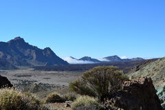 Mountain landscape of Teide National Park. Tenerife, Canary Islands Stock Photos