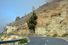Mountain landscape of Teide National Park. Tenerife, Canary Islands Royalty Free Stock Photos