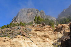 Mountain landscape of Teide National Park. Tenerife, Canary Islands Stock Photography
