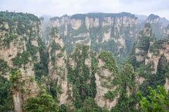 Tianzishan Tianzi Mountain Yuanjiajie Royalty Free Stock Image