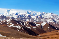 Mountain landscape, Tibet Stock Photography