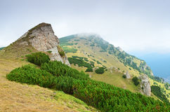 Mountain landscape in Transylvania Royalty Free Stock Photo