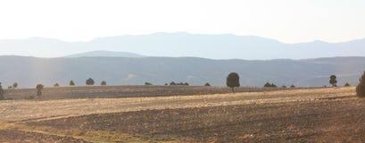 Mountain landscape. Turkey. Panorama of chain of mountains at sunrise. Turkey Stock Photo