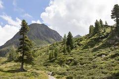 Mountain landscape in Tyrol, Austria. Stock Photos