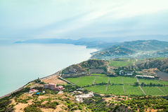 Mountain landscape. Ukraine. Crimea. Royalty Free Stock Photography