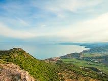 Mountain landscape. Ukraine. Crimea. Royalty Free Stock Images